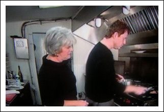 Gail and Bobby Flay In the Kitchen